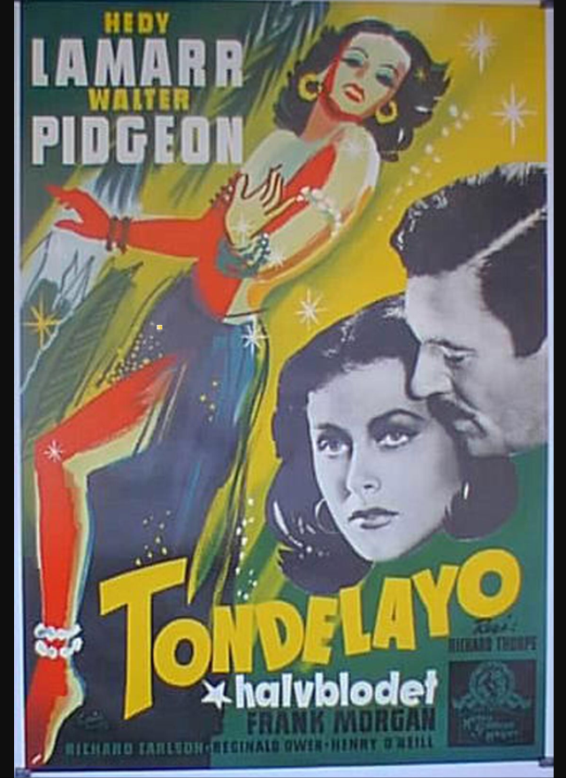 Hedy Lemar as Tondelayo