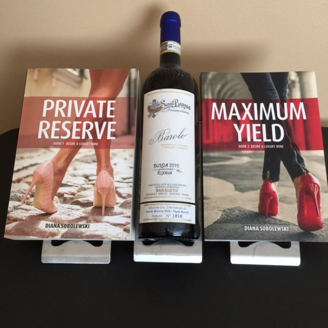 Desire & Luxury Wine (series) by Diana Sobolewski - Amazon (paperback & Kindle)