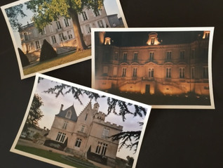Memories of some of the Bordeaux châteaux I stayed in ...