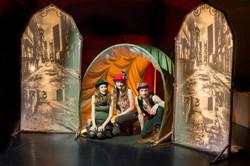 Set Build Frozen Theatre