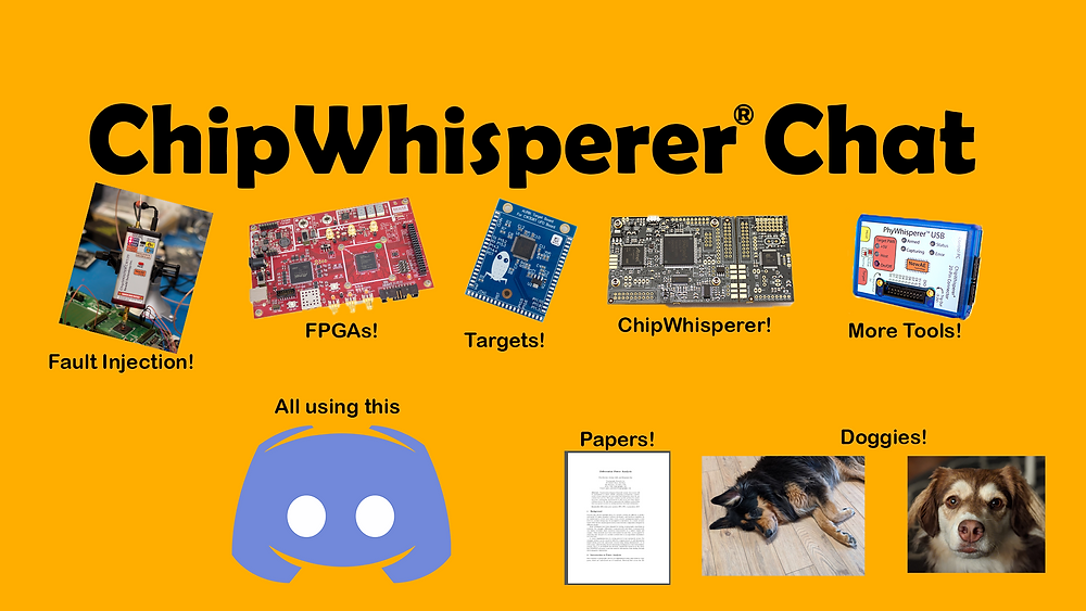 Join the ChipWhisperer Discord