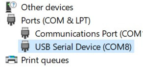 """""""Real"""" Serial Ports with the latest CW software update"""