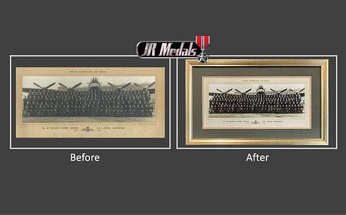 WWII 467 Squadron photo restoration 2.jp
