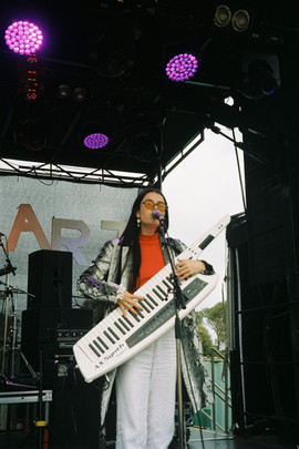 Francesca Gonzales at Loch Hart Music Festival