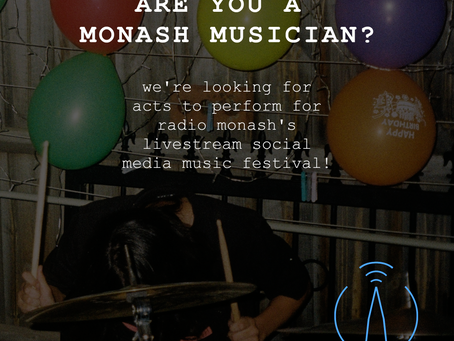 Join the Radio Monash (on)line-up!