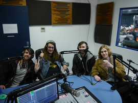WHARVES in the studio