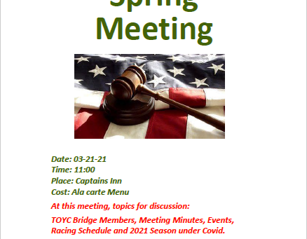 2021 Spring Meeting - Sunday March 21