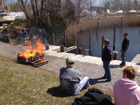 Annual Sock Burning April 6th
