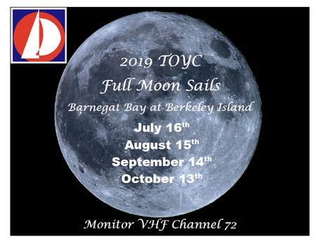 Full Moon Sail, Friday September 13th