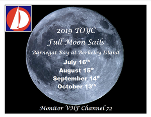 2019 TOYC Full Moon Sails - Multiple Dates