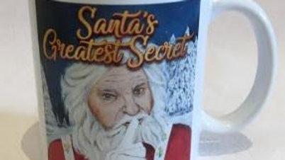 """Mug - """"Santa's Greatest Secret"""""""