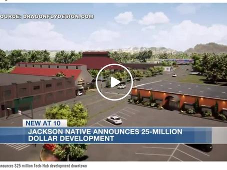 Jackson native announces $25 million Tech-Hub development downtown.