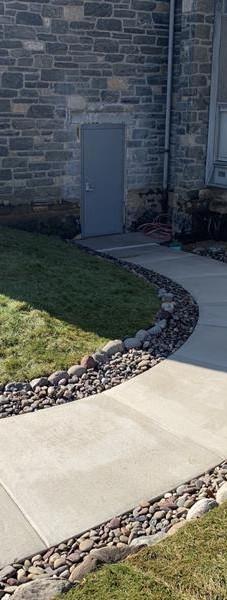 MACCS Construction-Church-Cement Sidewalk-ADA Compliance