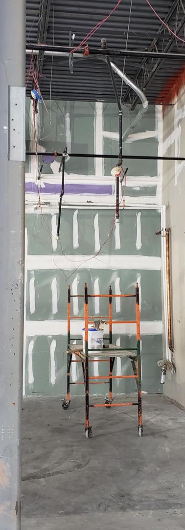 MACCS-Commercail Retail-Vanilla box-drywall-Commercial construction