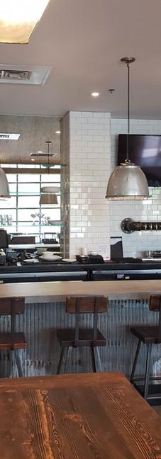 MACCS Construction-Lucky Well Restaurant-Custom Bar-Custom Lighting-Commercial