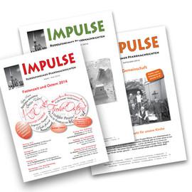 Layout und Gestaltung von Pfarrbrief (16-Seiter)