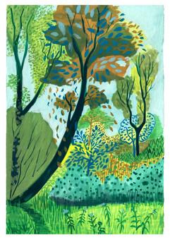 Malen im Naturschutzgebiet