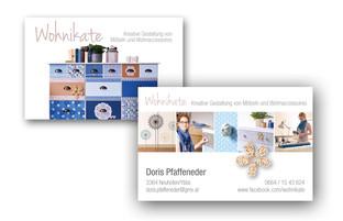 Gestaltung von Visitenkarten