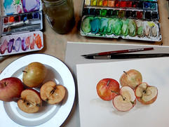 Work in Progress, Apfelstudie
