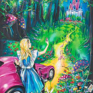 Selfie on the way to Wonderland