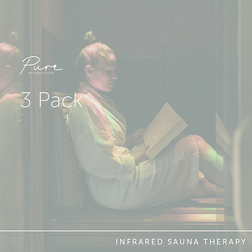 Infrared Sauna 3 Pack
