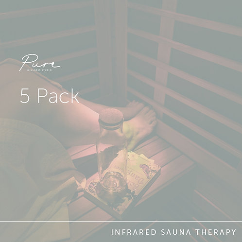 Infrared Sauna 5 Pack