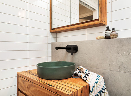 We feature in Houzz.com.au - Bathrooms that rock a narrow floor plan!