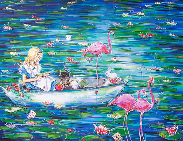 Alice in Never Never Land