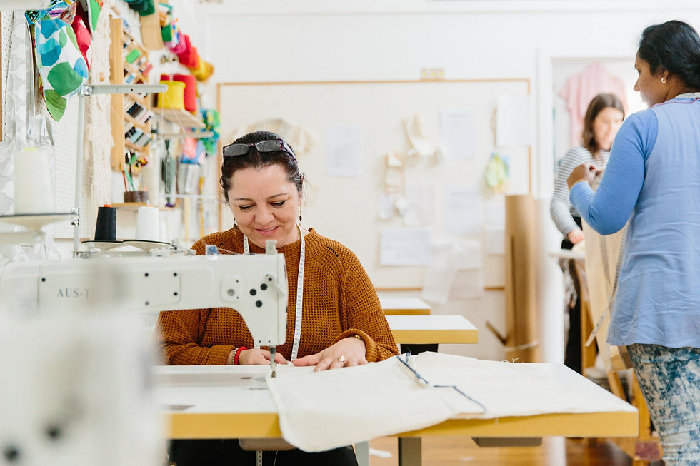 Second Stitch, Sustainable fashion