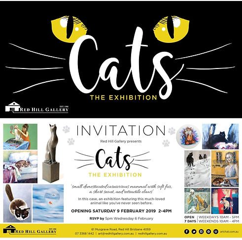 'Cats' The Exhibition, Red Hill Gallery