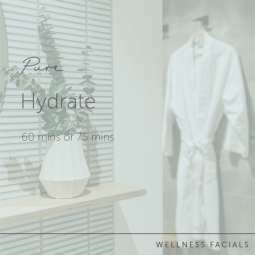 Hydrate Facial