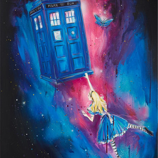 Alice and the Police Box - SOLD