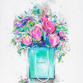 Tiffany Blue Bouquet