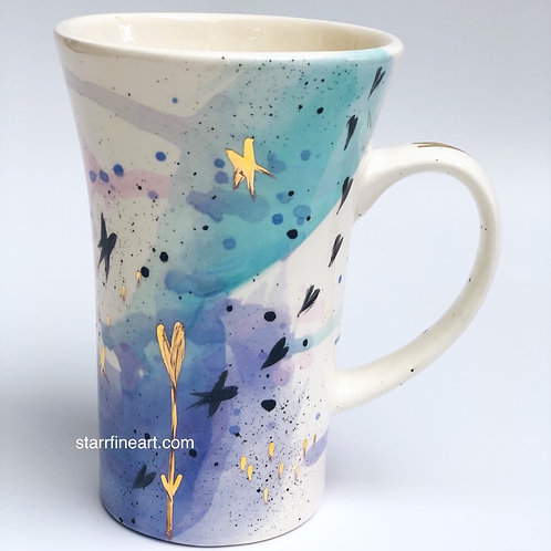 Coffee Cup 'I Heart the Stars'