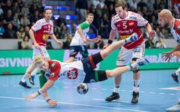 Kun 2. sek. fra en forløsning i Ewii Arena Brøndby