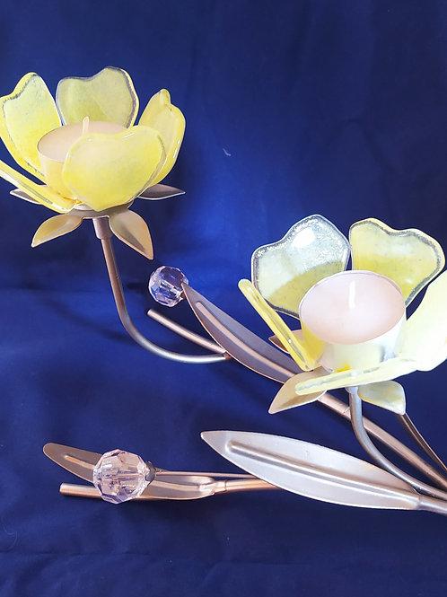 Primrose double tealight table light
