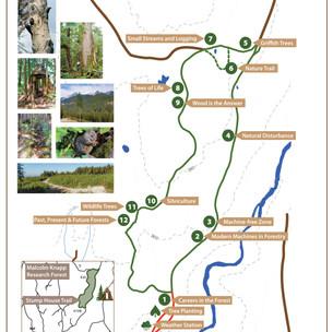Stump House Trail Map