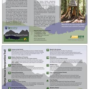 Stump House Brochure