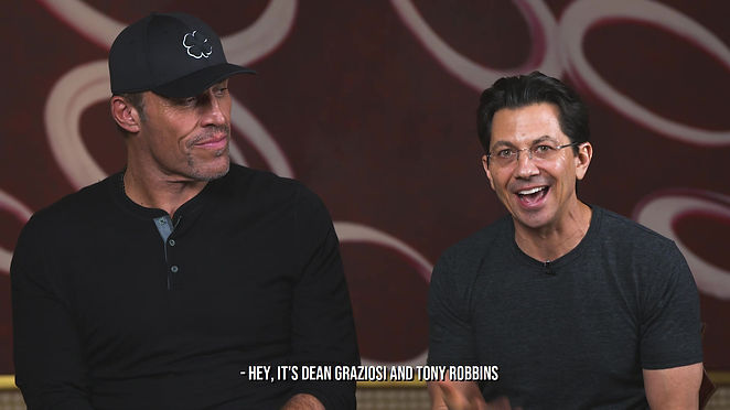 FREE Tony Robbins and Dean Graziosi LIVE Event