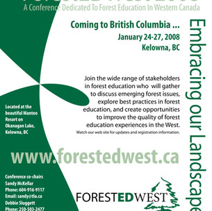 ForestEd West Poster