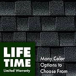 GAF lifetime limited warranty