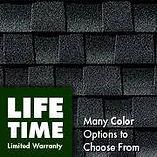 GAF lifetime limited warranty
