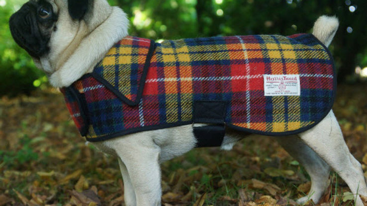 Harris Tweed Luxury Classic Coat