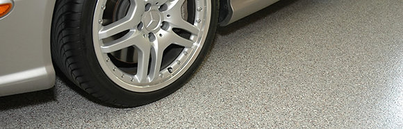 SPARTACOTE™ CHIP Polyaspartic Resinous Flooring