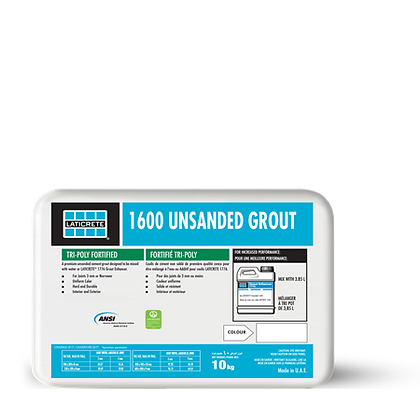 LATICRETE 1600 Unsanded Grout