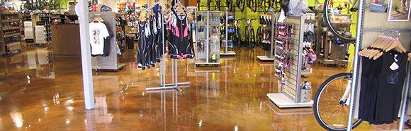SPARTACOTE™METALLIC Polyaspartic Resinous Flooring