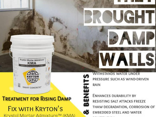 Need a solution for rising Damp or external wall Dampness...look no further!