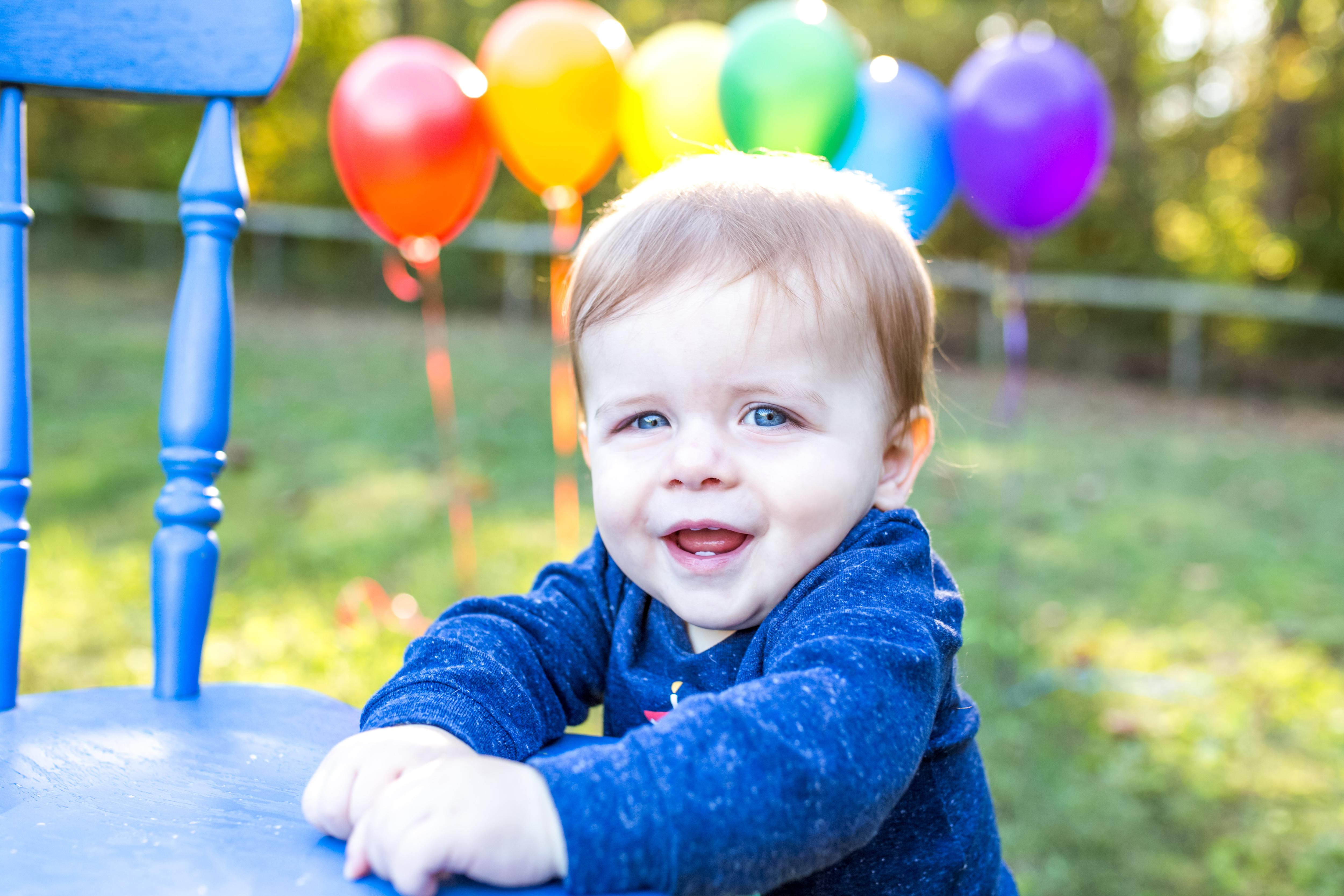 Rainbow Baby Cake Smash