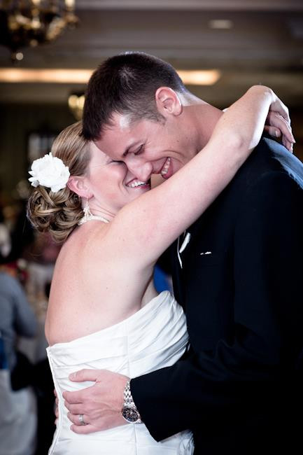 Hubby and I on our wedding day. Photo by Sonny Wink.