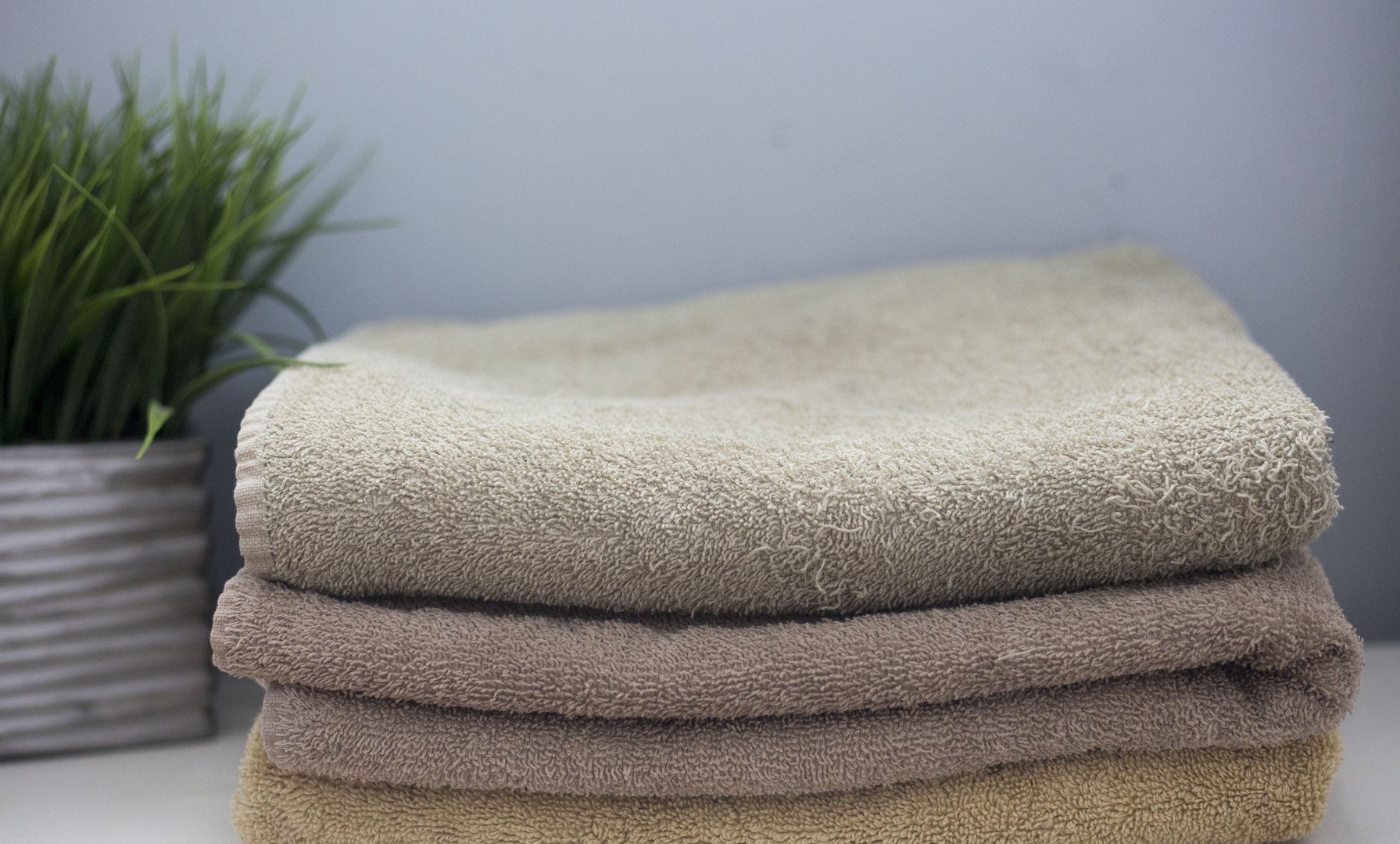 Appartement 2 chambres Cosy serviettes de bain